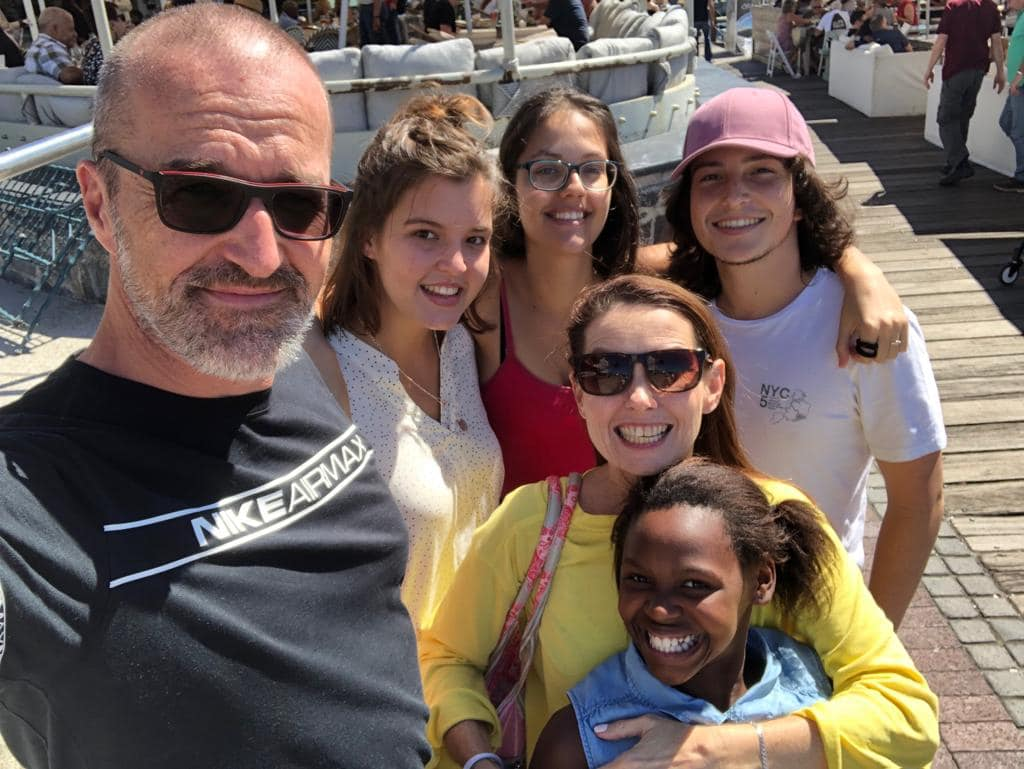 The Stanton Family in Cape town